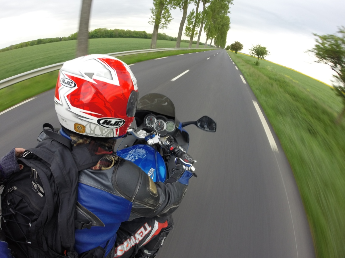 Motorbiking from London to the South of France
