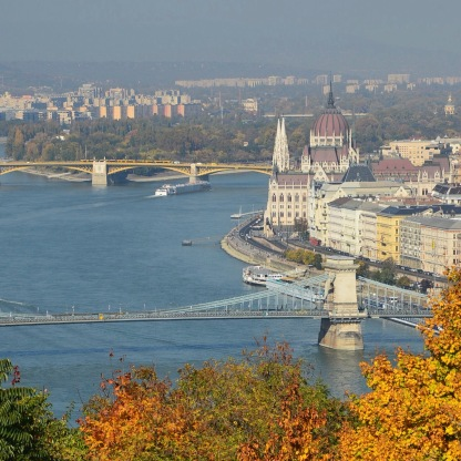 Parliament from Gellert Hill